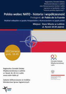 """Wykład """"Polska wobec NATO- historia i współczesność"""""""