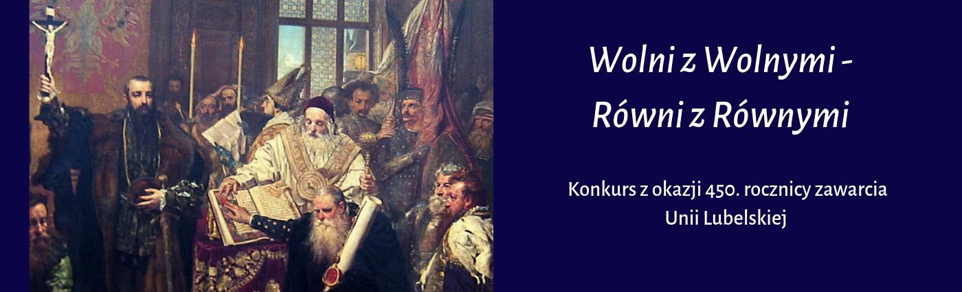 """""""Wolni z Wolnymi – Równi z Równymi"""" KONKURS dla nauczycieli i uczniów!"""