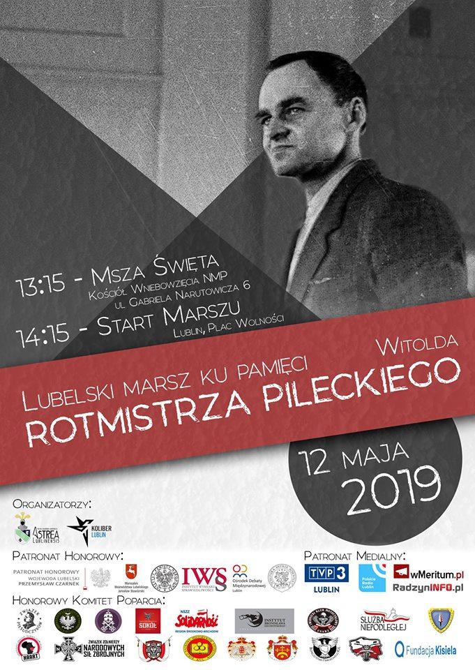 Zapraszamy na Marsz Pamięci Rotmistrza Pileckiego!