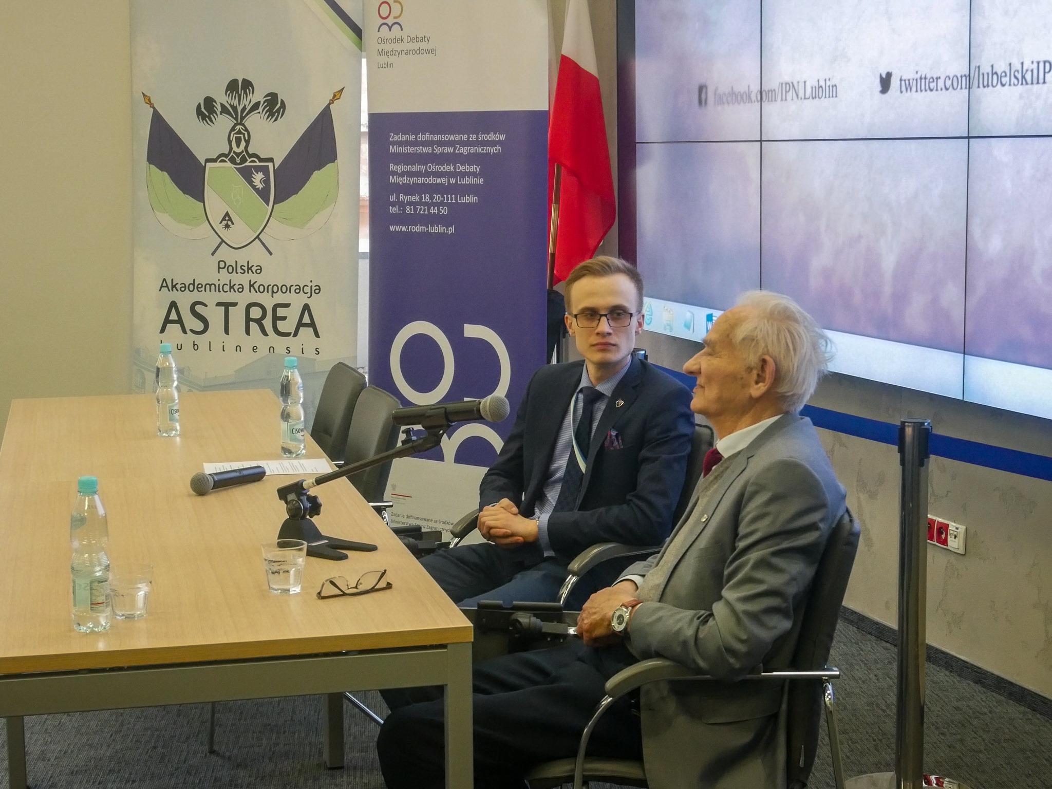 Spotkanie z Andrzejem Pileckim – synem Rotmistrza