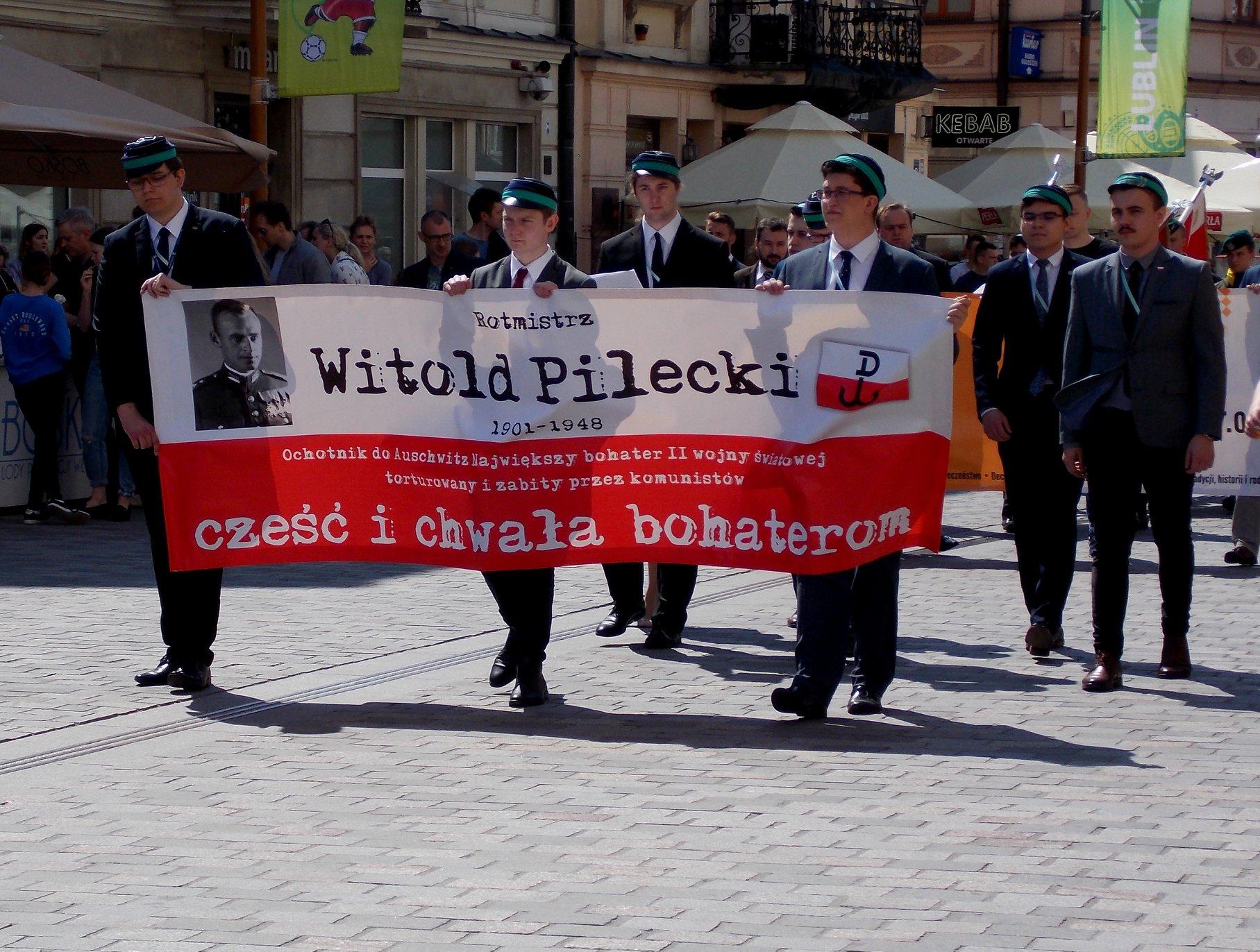 Marsz Pamięci Rotmistrza Pileckiego