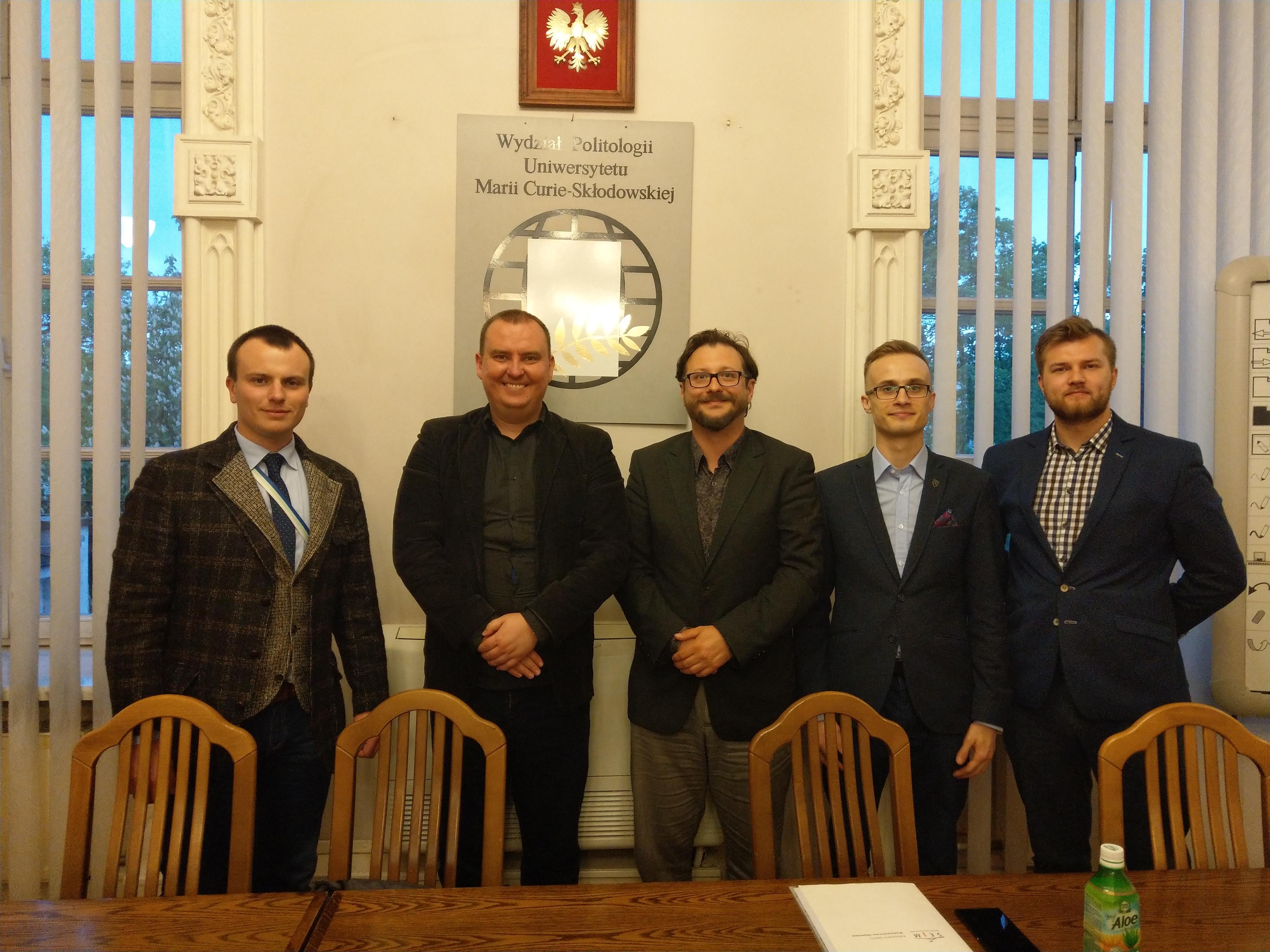 Szkoła Wyszehradzka – spotkanie z Szymonem Bachrynowskim