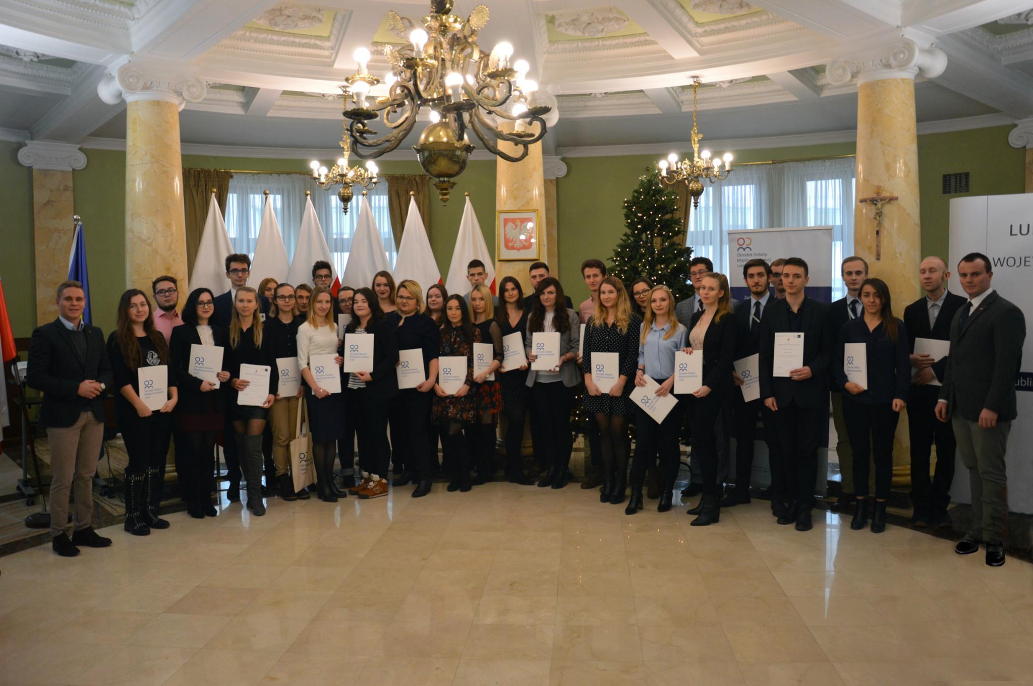 Zakończenie III edycji Lubelskiej Szkoły Dyplomacji