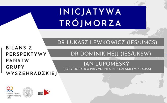 Między morzami. Rozmowy środkowoeuropejskie | #3 | D.Héjj, J. Lupoměský, Ł. Lewkowicz| Trójmorze.