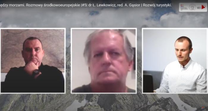 Między morzami. Rozmowy środkowoeuropejskie | #5 | dr Ł. Lewkowicz, red. A. Gąsior | Rozwój turystyki