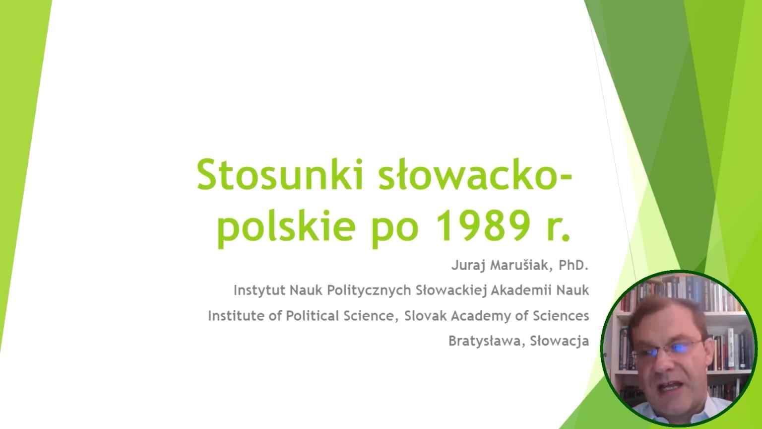 Szkoła Wyszehradzka #13. Stosunki polsko – słowackie