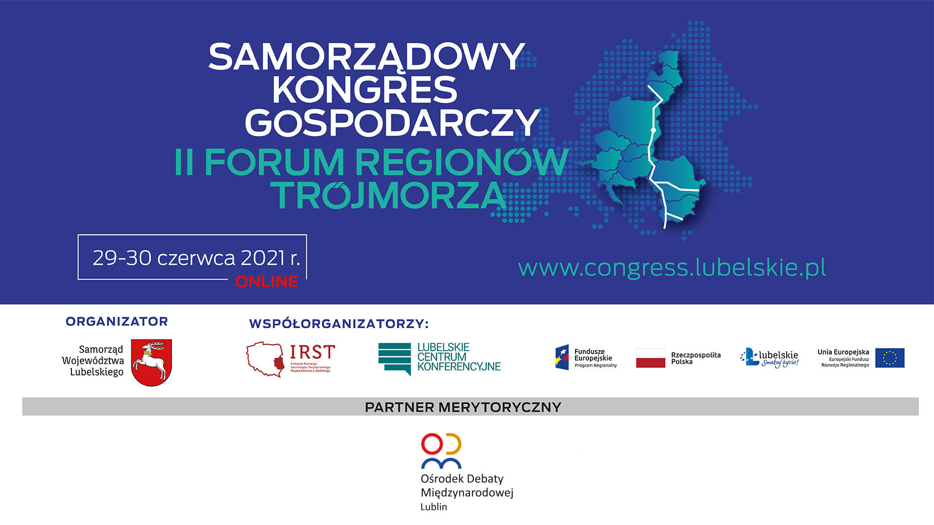 Samorządowy Kongres Gospodarczy – II Forum Regionów Trójmorza