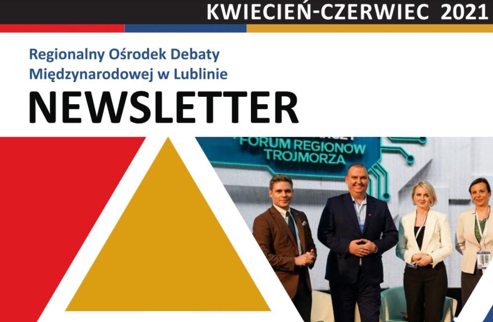 Newsletter RODM Lublin –  kwiecień-czerwiec 2021